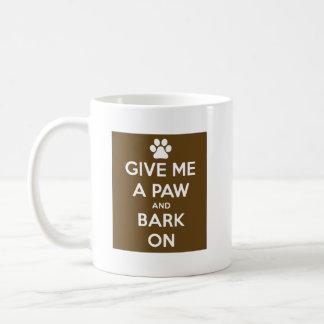 Mug Donnez-moi une patte