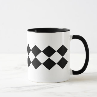 Mug Double conception moderne et contemporaine de