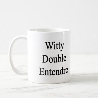 Mug Double Entendre plein d'esprit