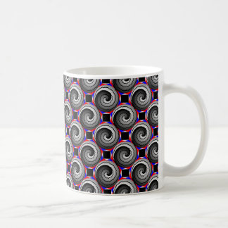 Mug Double spirale de Yin Yang par Kenneth Yoncich