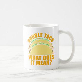 Mug Double taco