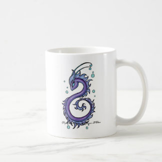 Mug Dragon pourpre de mer de tatouage
