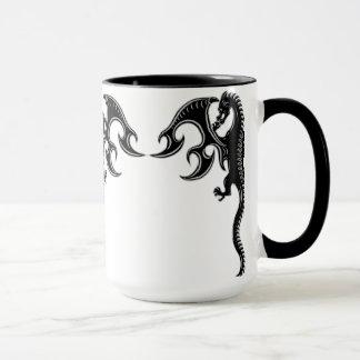 Mug Dragon tribal