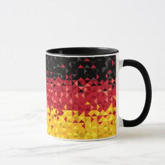 Mug Drapeau abstrait de l'Allemagne, couleurs