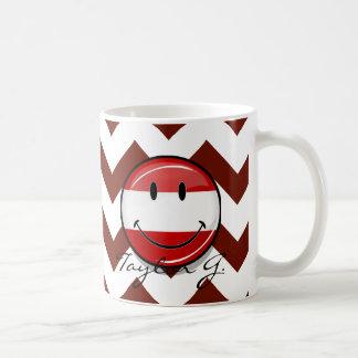 Mug Drapeau autrichien de sourire