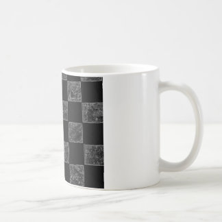 Mug Drapeau Checkered noir et gris