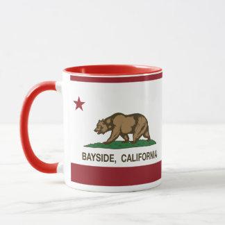 Mug Drapeau de Bayside de République de la Californie