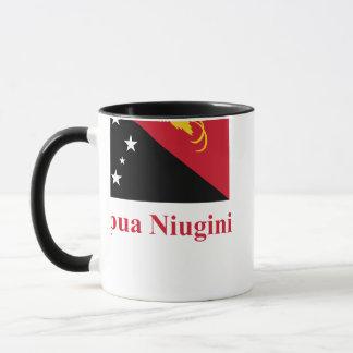 Mug Drapeau de la Papouasie-Nouvelle-Guinée avec le