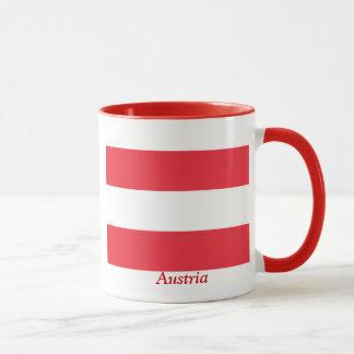 Mug Drapeau de l'Autriche