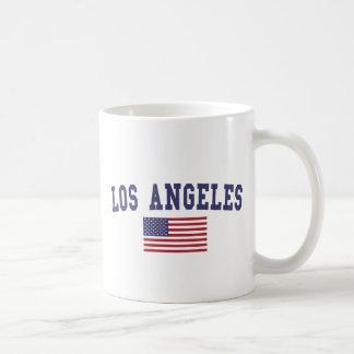 Mug Drapeau de Los Angeles USA