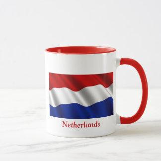 Mug Drapeau de ondulation de Pays-Bas