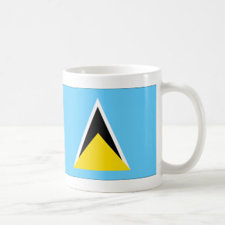 Mug Drapeau de Sainte-Lucie