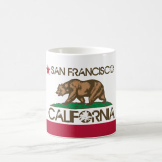 Mug Drapeau de San Francisco la Californie
