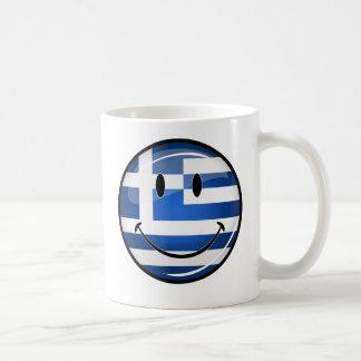 Mug Drapeau grec de sourire
