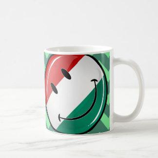 Mug Drapeau hongrois de sourire
