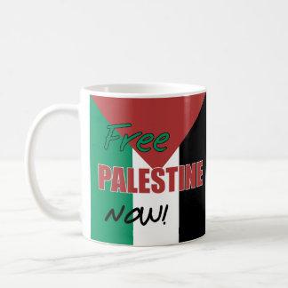 Mug Drapeau palestinien libre de la Palestine