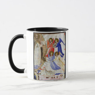 Mug ds 558 f.67v St Dominic avec quatre anges