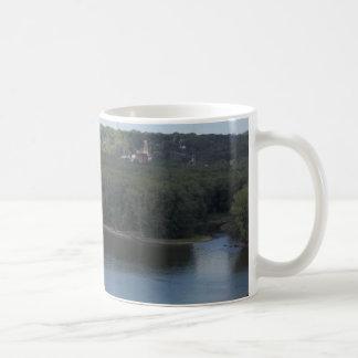 Mug Dubuque est sur le fleuve Mississippi