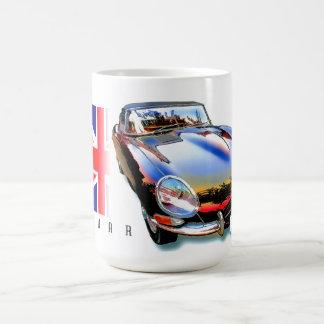 Mug E-type xke de Jaguar