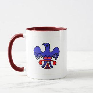 Mug Eagle patriotique