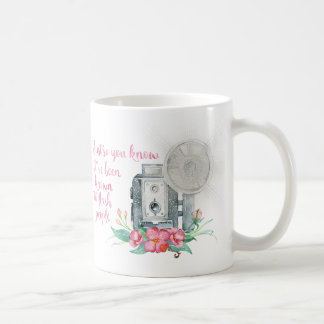Mug Éclair d'appareil-photo de photographe