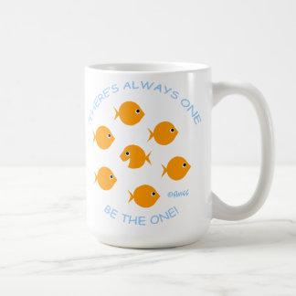 Mug École de devise inspirée de professeur de poisson