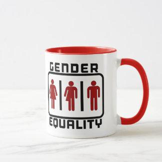 Mug ÉGALITÉ ENTRE LES SEXES : Loi neutre de toilette