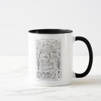 Mug Égyptien et persan antiques