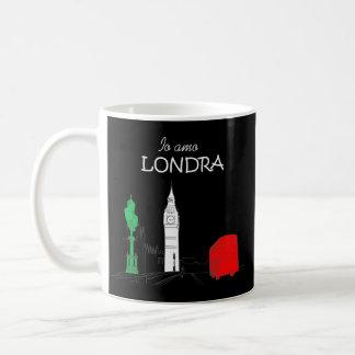 Mug Élégant unique d'Italien d'amour drôle de Londra