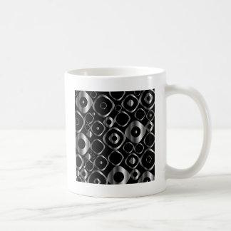 Mug Élément décoratif de conception avec les anneaux