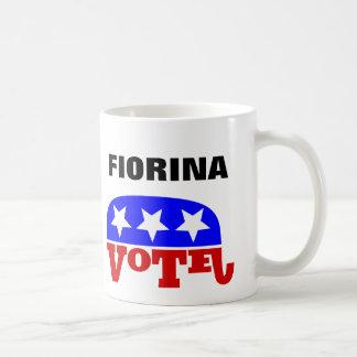 Mug Éléphant de républicaine de Carly Fiorina de vote