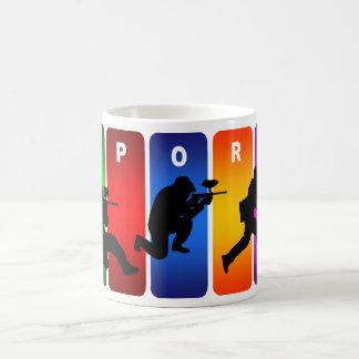 Mug Emblème multicolore de Paintball