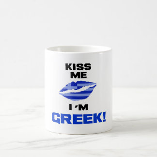 Mug Embrassez-moi que je suis grec