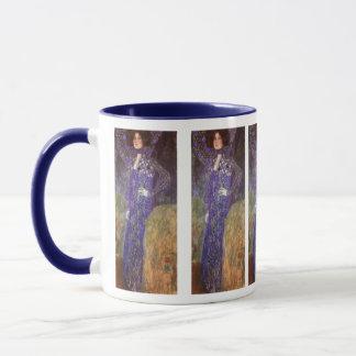Mug Emilie Floege par : Gustav Klimt