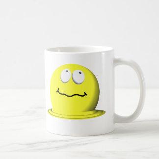 "Mug Émoticône souriante de visage de ""Melty"" je t'aime"