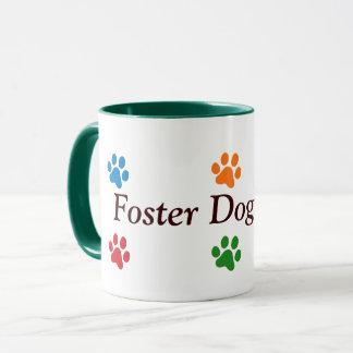 Mug Empreintes de pattes Maman-Colorés de chien