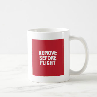 Mug Enlevez avant vol
