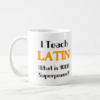 Mug Enseignez le latin