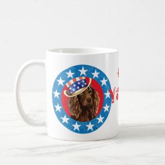 Mug Épagneul patriotique de Boykin