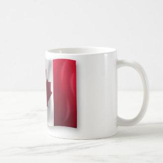Mug Érable canadien de feuille d'emblème de pays de