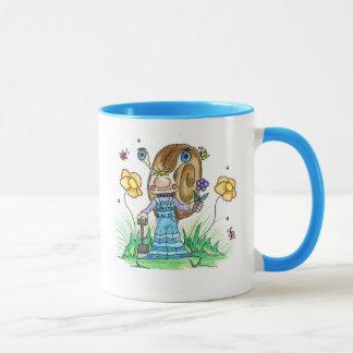 Mug Escargot dans le jardin