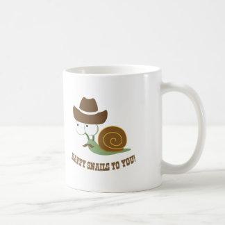 Mug Escargots heureux à vous !