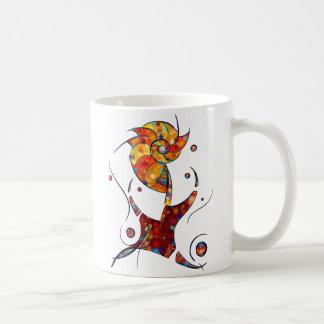 Mug Espanessua - fleur en spirale imaginaire