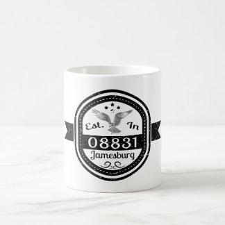 Mug Établi dans 08831 Jamesburg