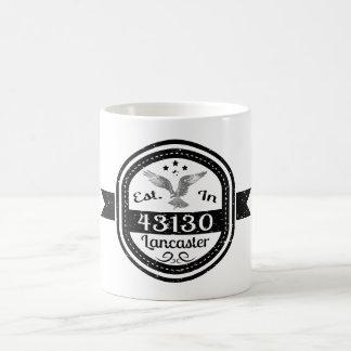 Mug Établi dans 43130 Lancaster