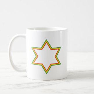 Mug Étoile de David de Rasta