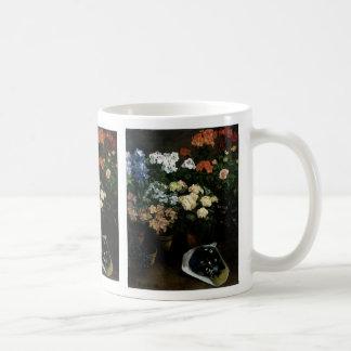 Mug Étude des fleurs par Frederic Bazille