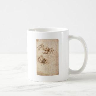 Mug Études des crabes par Leonardo da Vinci