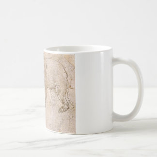 Mug Études d'un BeWalking par Leonardo da Vinci
