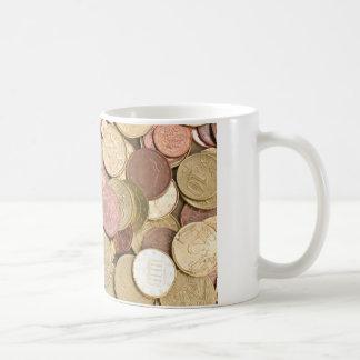 Mug Euro cents